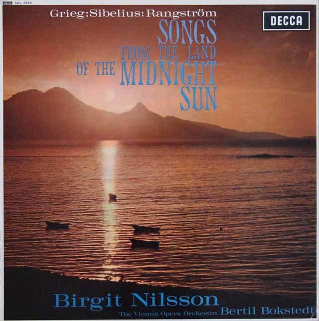 【オリジナル盤】 ニルソン/白夜の国の歌   英DECCA 3207 LP レコード