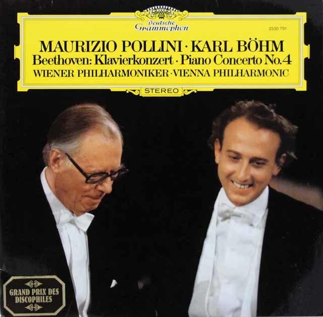 ポリーニ&ベームのベートーヴェン/ピアノ協奏曲第4番 独DGG 3207 LP レコード