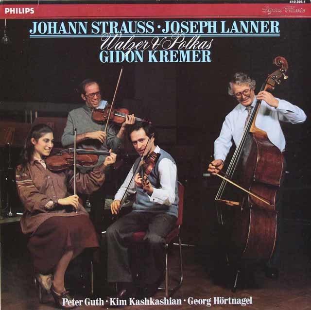 クレーメルらのランナー&シュトラウス/ワルツ&ポルカ集 蘭PHILIPS  3207 LP レコード