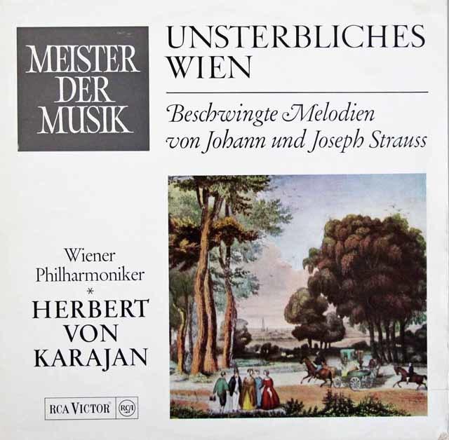 カラヤンのシュトラウス・コンサート  独RCA 3207 LP レコード
