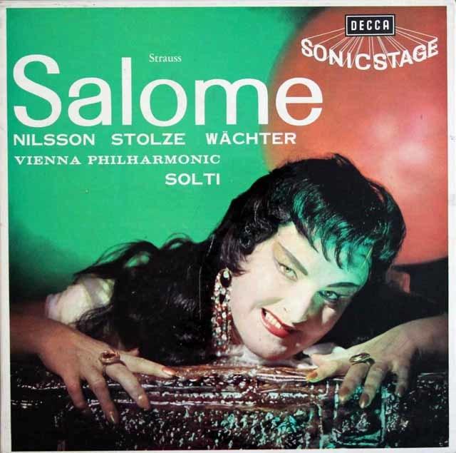 【オリジナル盤】 ショルティのR.シュトラウス/「サロメ」  英DECCA 3207 LP レコード