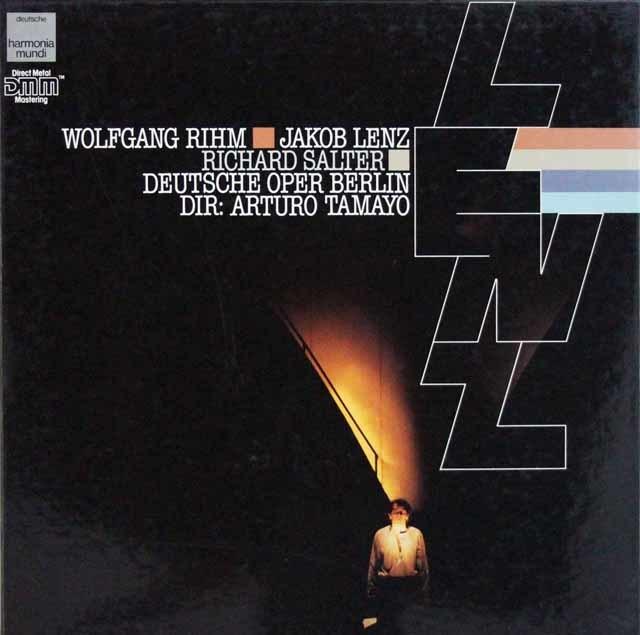 【直筆サイン入り】 タマヨのリーム/室内オペラ「ヤーコプ・レンツ」  独HM 3207 LP レコード