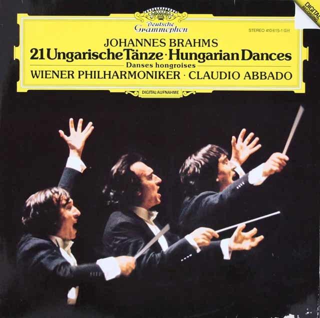 アバドのブラームス/ハンガリー舞曲集(全21曲) 独DGG 3208 LP レコード