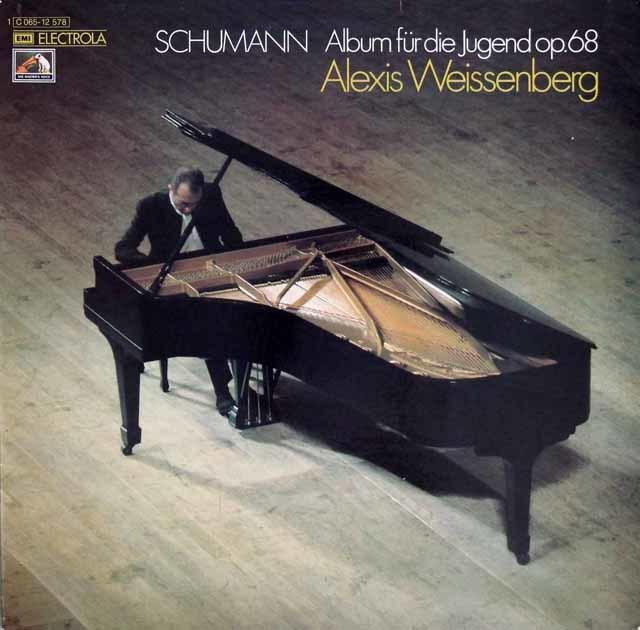 ワイセンベルクのシューマン/子どものためのアルバム 独EMI 3208 LP レコード