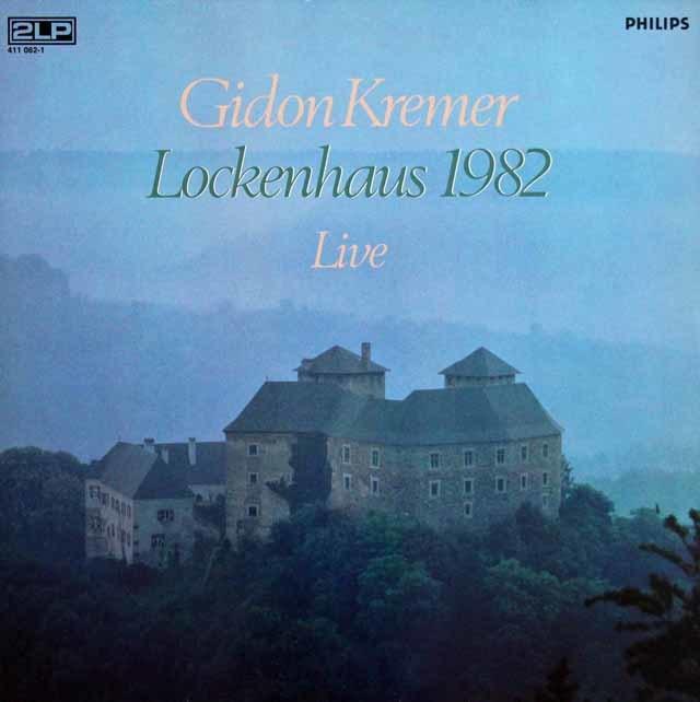 クレーメル/ロッケンハウス室内音楽祭1982 蘭PHILIPS 3208 LP レコード