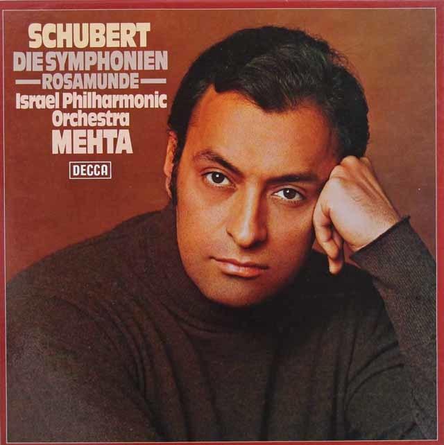 メータのシューベルト/交響曲全集 独DECCA 3208 LP レコード