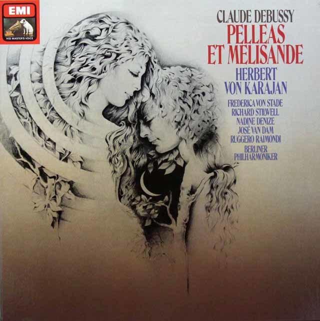カラヤンのドビュッシー/「ペレアスとメリザンド」  独EMI 3208 LP レコード