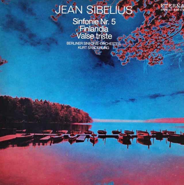 ザンデルリンクのシベリウス/交響曲第5番&「フィンランディア」ほか 独ETERNA 3209 LP レコード