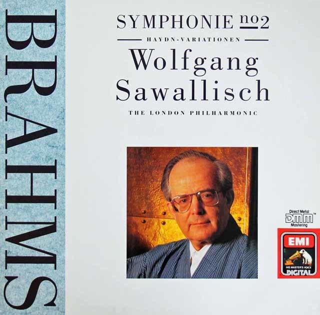 サヴァリッシュのブラームス/交響曲第2番&ハイドン変奏曲 独EMI 3209 LP レコード