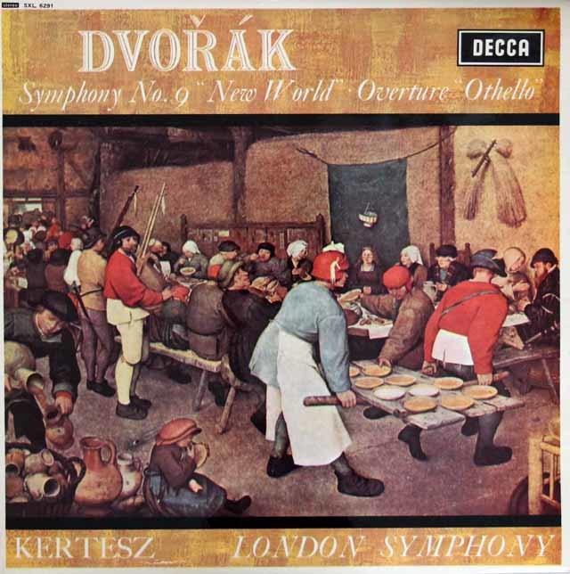 ケルテスのドヴォルザーク/交響曲第9番「新世界より」ほか 英DECCA 3209 LP レコード