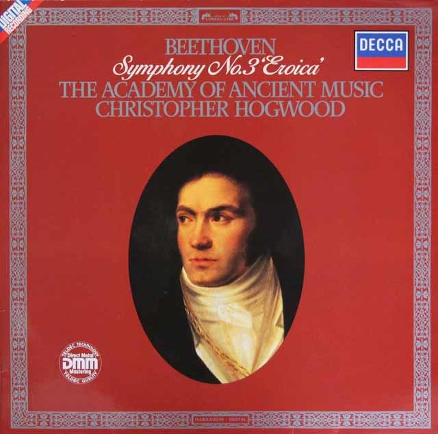 ホグウッドのベートーヴェン/交響曲第3番「英雄」 独DECCA 3209 LP レコード