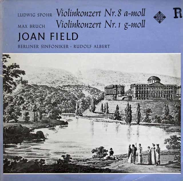 フィールドのシュポーア&ブルッフ/ヴァイオリン協奏曲集 独TELEFUNKEN 3209 LP レコード