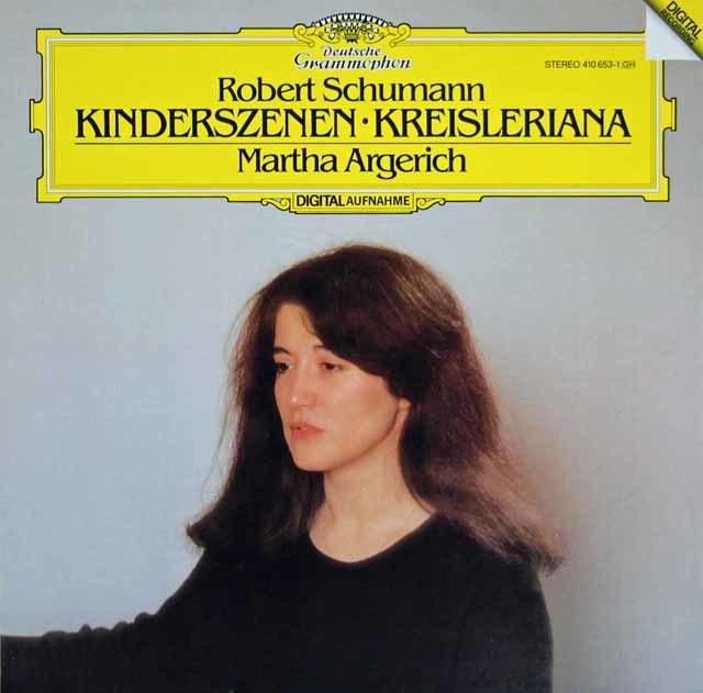 アルゲリッチのシューマン/「子供の情景」、「クライスレリアーナ」 独DGG 3209 LP レコード