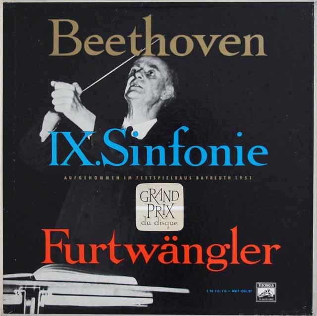 フルトヴェングラーのベートーヴェン/交響曲第9番 独ELECTROLA 3209 LP レコード