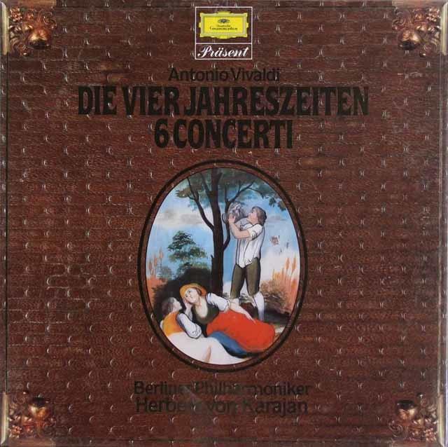 【未開封】 シュヴァルベ&カラヤンのヴィヴァルディ/「四季」、6つの協奏曲集 独DGG 3209 LP レコード