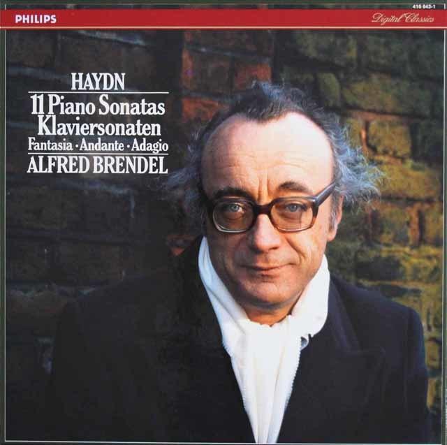 ブレンデルのハイドン/11のピアノ・ソナタ集ほか 蘭PHILIPS 3209 LP レコード
