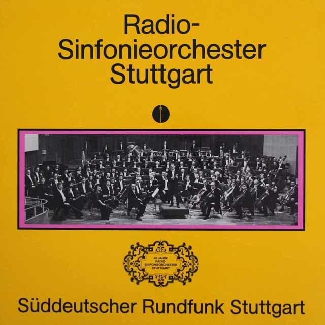 シュトットガルト放送交響楽団40周年の歩み 独SWR 3209 LP レコード