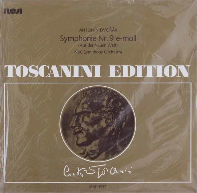 【未開封】トスカニーニのドヴォルザーク/交響曲第9番「新世界より」 独RCA 3210 LP レコード