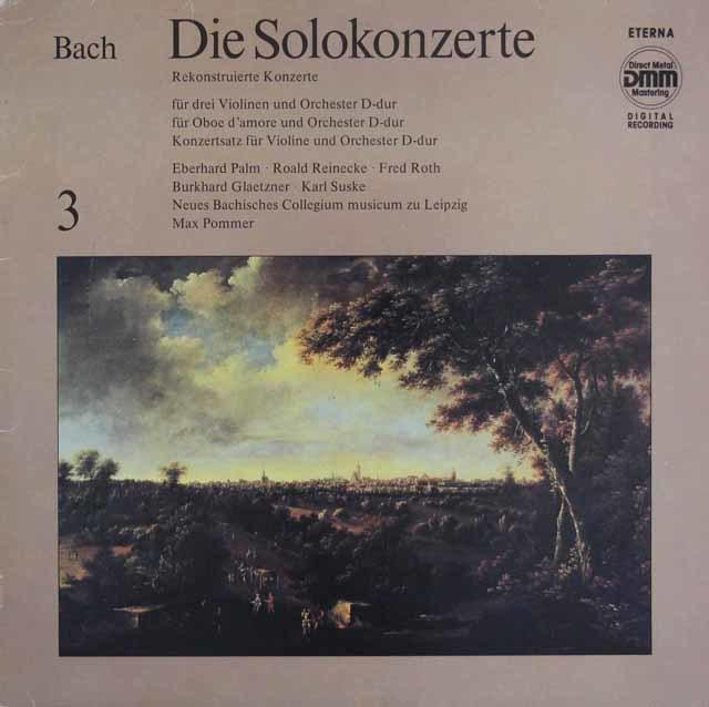 ズスケ&グレツナーらのバッハ/協奏曲集 vol.3 独ETERNA 3210 LP レコード