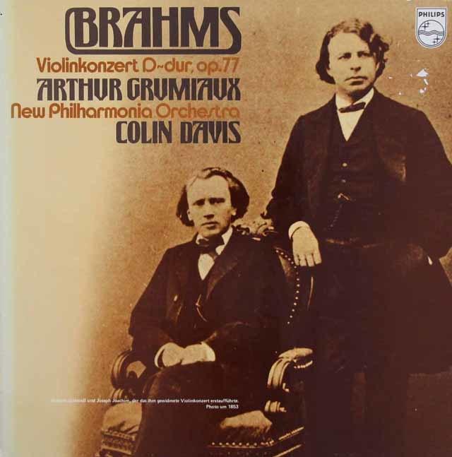 グリュミオー&デイヴィスのベートーヴェン/ヴァイオリン協奏曲 蘭PHILIPS 3210 LP レコード