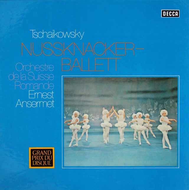 アンセルメのチャイコフスキー/「くるみ割り人形」全曲 独DECCA 3210 LP レコード