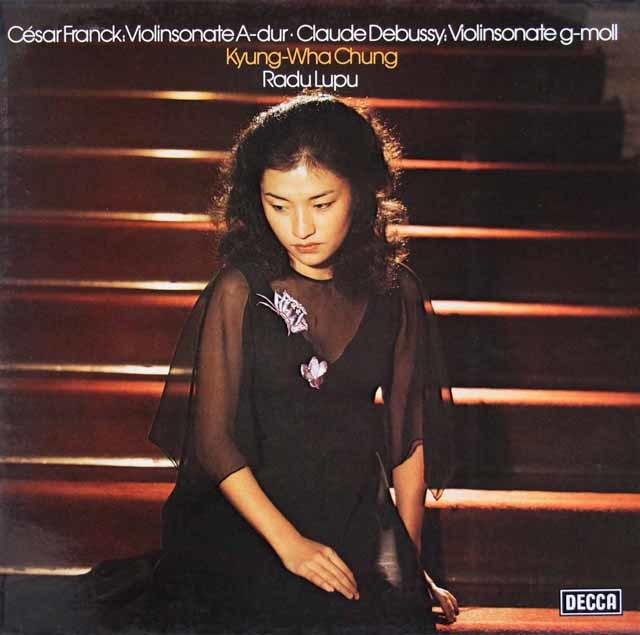 チョン&ルプーのフランク/ヴァイオリンソナタほか 独DECCA 3210 LP レコード