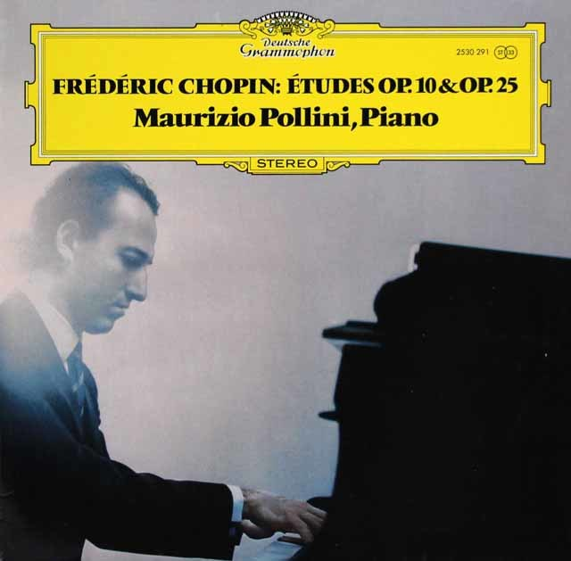 ポリーニのショパン/12の練習曲 独DGG 3210 LP レコード