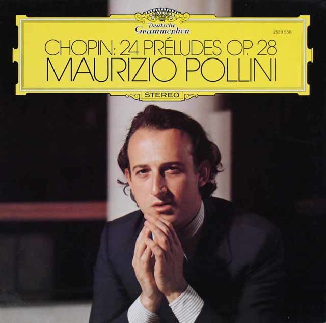 ポリーニのショパン/前奏曲集 独DGG 3210 LP レコード