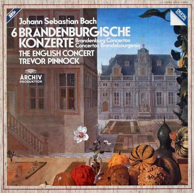 ピノックのバッハ/ブランデンブルク協奏曲全曲 独ARCHIV 3210 LP レコード