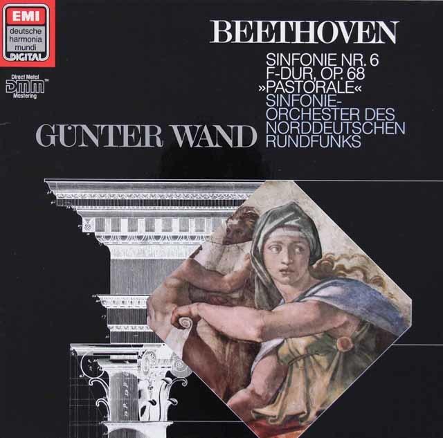 ヴァントのベートーヴェン/交響曲第6番「田園」 独EMI/HM 3210 LP レコード
