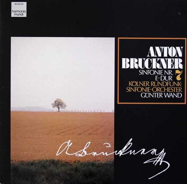 ヴァントのブルックナー/交響曲第7番 独HM 3210 LP レコード