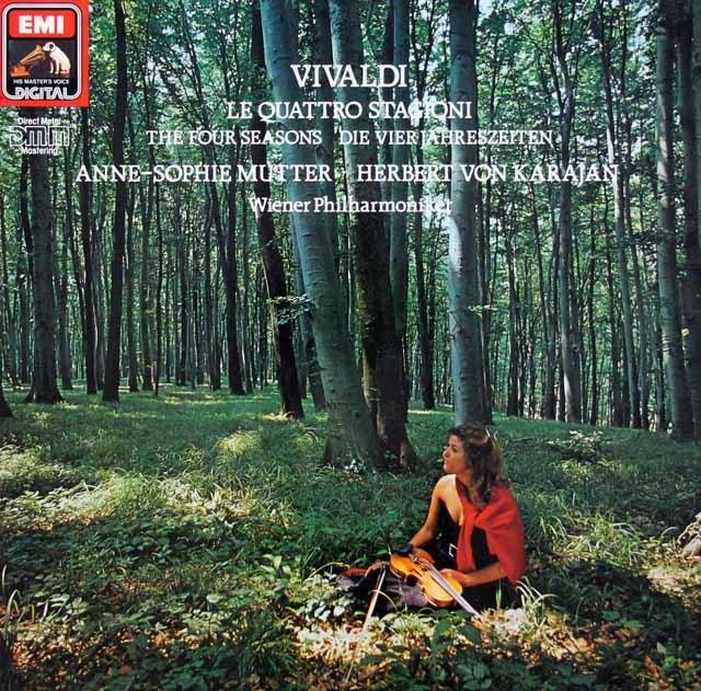 ムター&カラヤンのヴィヴァルディ/「四季」 独EMI 3210 LP レコード