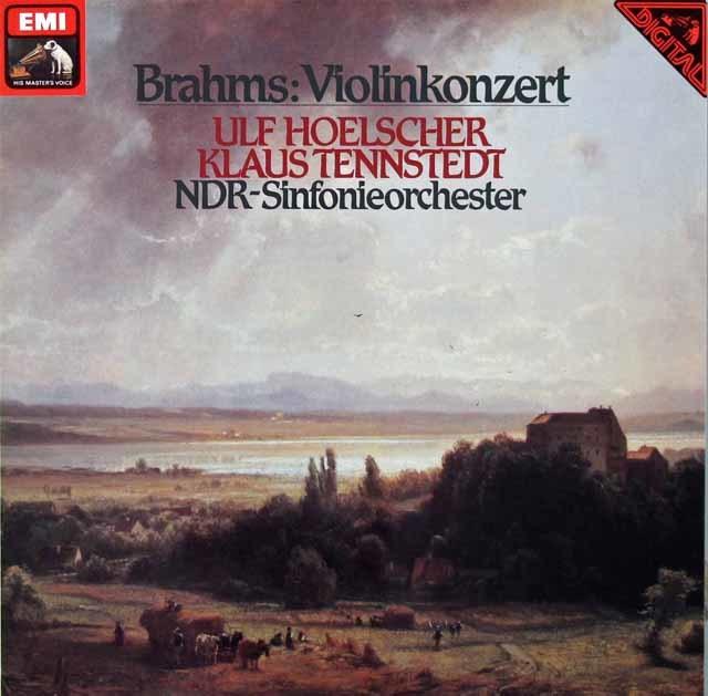 ウルフ・ヘルシャー&テンシュテットのブラームス/ヴァイオリン協奏曲 独EMI 3210 LP レコード
