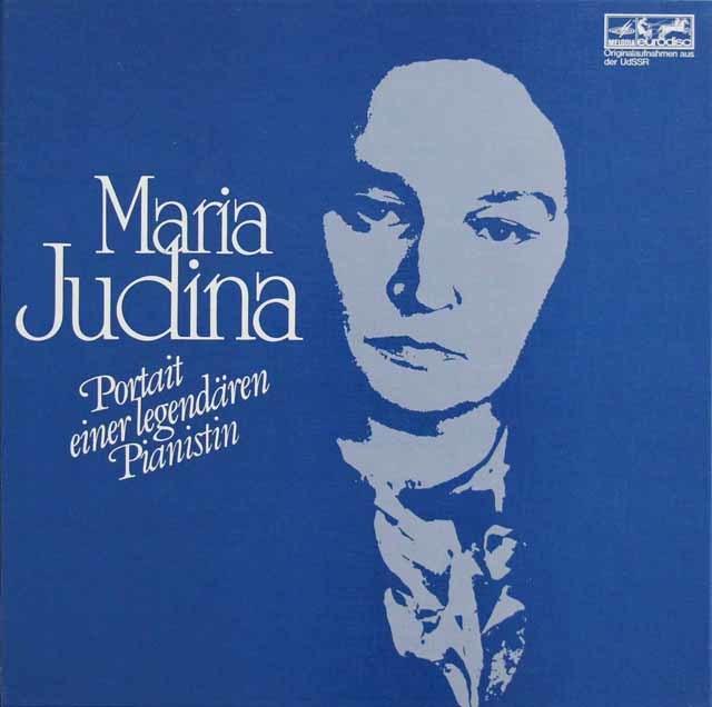 「マリア・ユーディナの芸術」第1巻&第2巻 独eurodisc 3210 LP レコード