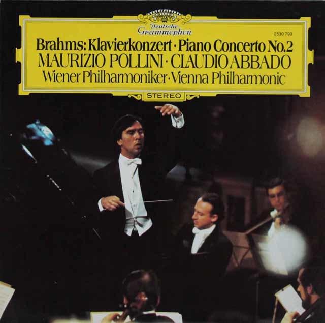 ポリーニ&アバドのブラームス/ピアノ協奏曲第2番 独DGG 3211 LP レコード