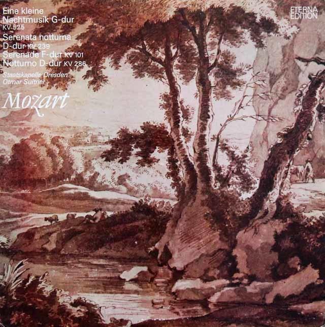 スウィトナーのモーツァルト/アイネ・クライネ・ナハトムジークほか 独ETERNA 3211 LP レコード