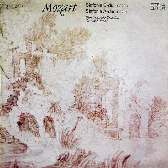 スウィトナーのモーツァルト/交響曲第28&29番  独ETERNA 3211 LP レコード