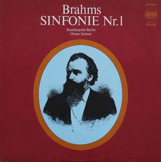 スウィトナーのブラームス/交響曲第1番 独ETERNA 3211 LP レコード