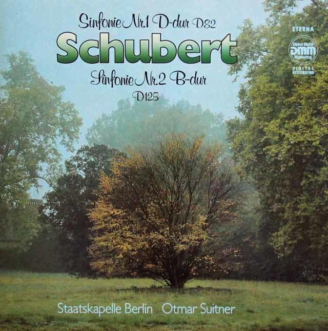 スウィトナーのシューベルト/交響曲第1&2番 独ETERNA 3211 LP レコード