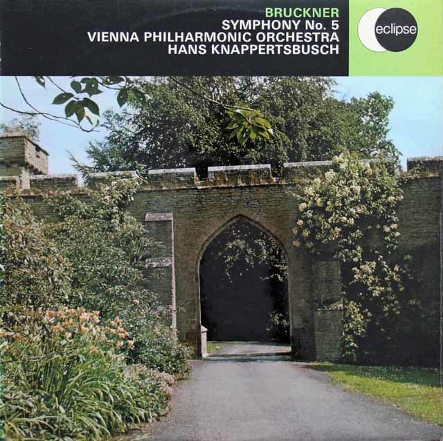 【オリジナル盤】 クナッパーツブッシュのブルックナー/交響曲第5番 英DECCA 3211 LP レコード