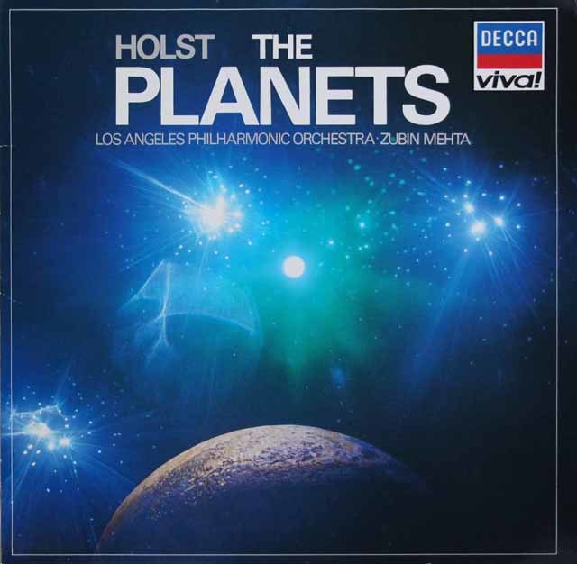 メータのホルスト/「惑星」  独DECCA 3211 LP レコード
