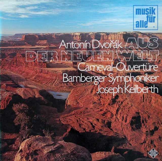 カイルベルトのドヴォルザーク/交響曲第9番「新世界より」  独Telefunken  3211 LP レコード