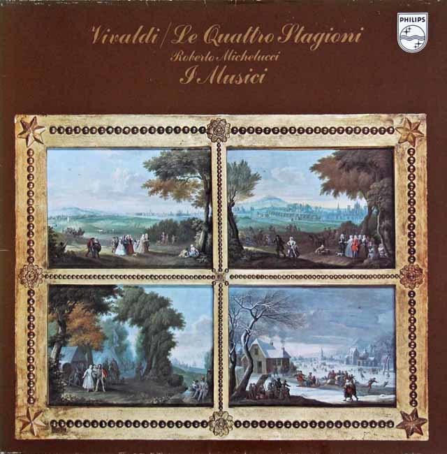 ミケルッチ&イ・ムジチ合奏団のヴィヴァルディ/「四季」 蘭PHILIPS 3211 LP レコード