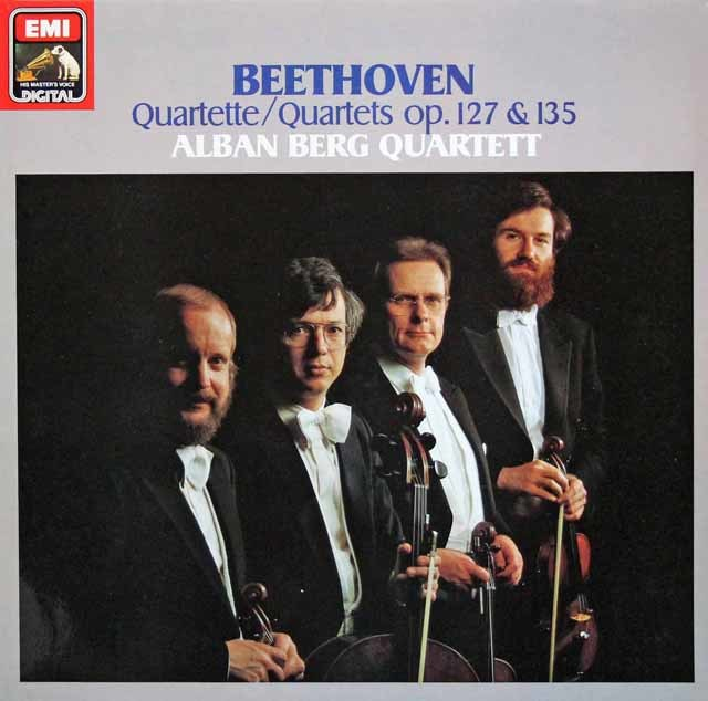 アルバン・ベルク四重奏団のベートーヴェン/弦楽四重奏曲第12&16番  独EMI 3211 LP レコード