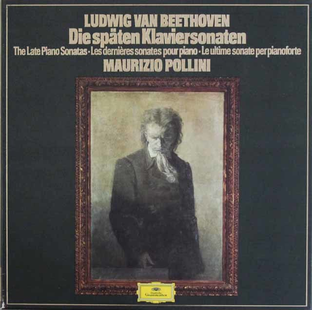 ポリーニのベートーヴェン/後期ピアノソナタ集 独DGG 3211 LP レコード