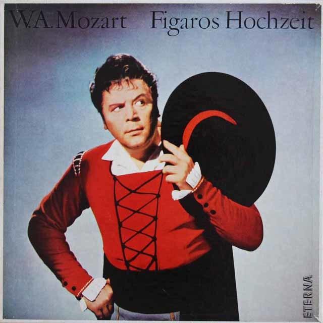 スウィトナーのモーツァルト/「フィガロの結婚」全曲  独ETERNA 3211 LP レコード