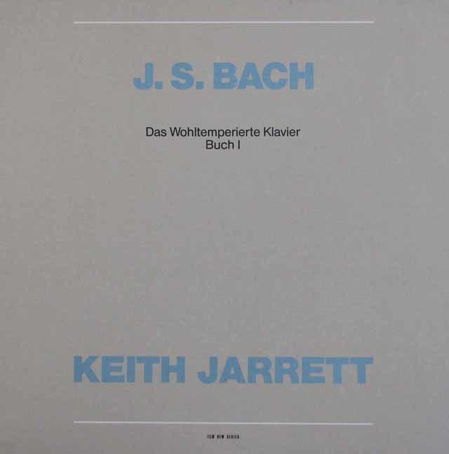 キース・ジャレットのバッハ/平均律クラヴィーア曲集第1巻 独ECM 3211 LP レコード