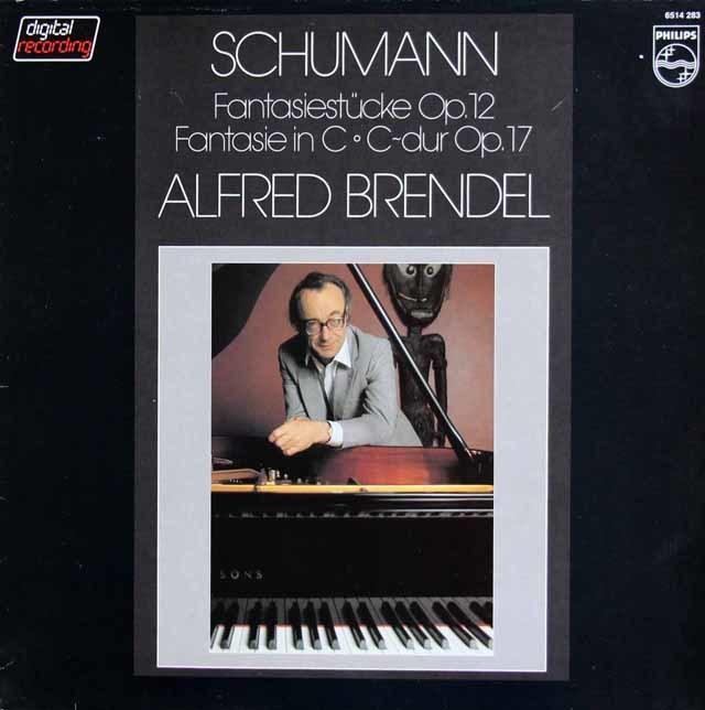 ブレンデルのシューマン/幻想小曲集&幻想曲 蘭PHILIPS 3212 LP レコード