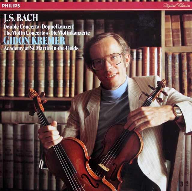クレーメルのバッハ/ヴァイオリン協奏曲集 蘭PHILIPS 3212 LP レコード