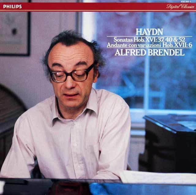 ブレンデルのハイドン/ピアノソナタ第52、40、37番 蘭PHILIPS 3212 LP レコード